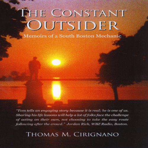 The Constant Outsider audiobook cover art
