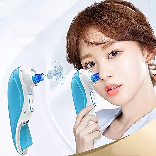 LLYU Extracteur de points noirs électriques Outil acné taches noires Pimple Remover Pores du visage Pores Clean Circulation de l'eau Mini Nettoyage de bulles