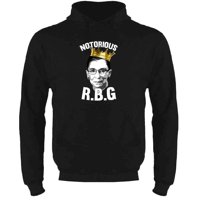 Notorious R.B.G. RBG Supreme Court Political Mens Fleece Hoodie Sweatshirt