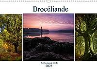 BROCELIANDE, sur les pas de Merlin (Calendrier mural 2022 DIN A3 horizontal): Brocéliande, sa magie, ses légendes, le roi Arthur, ses chevaliers et Merlin l'enchanteur (Calendrier mensuel, 14 Pages )