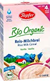 Töpfer Bio-Reis-Milchbrei Vanille, 200g