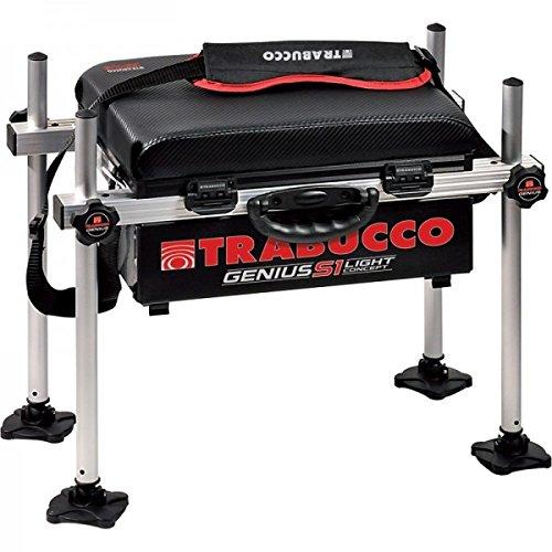 Trabucco Genius Bench Box S1 Licht Stühle Ausrüstung Angeln 116-70-100