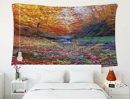 Wandbehang Wandteppich, Red MapleTree, Wandteppich, Großer Wandteppich für D & eacute; cor Schlafzimmer und Wohnheim Nacktschnecke Tier Aquarium Asien angebracht Australien unter Biodiversität Zucht k
