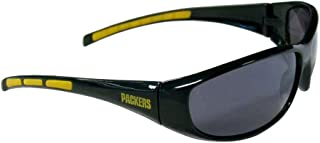 Siskiyou Gifts Co, Inc. NFL Green Bay Packers Wrap Sunglasses
