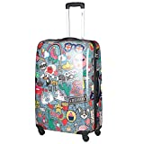 Fabrizio Travel 4-Rollen Trolley 78 cm bunt