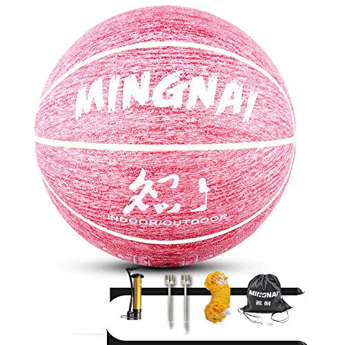 Fantastic Deal! SSLLPPAA Individuality Pink Basketball Adult Child Youth 7 Basketball Outdoor Sports...