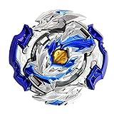 Burst Peonzas |Dios Azul Super Z Juego De Trompos De Combate De Giroscopio De Metal Piezas 4D Fusion Model Burst Evolution Combination Series con 1 Lanzadores De Juguetes para Niños