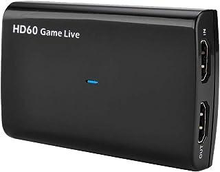 Y&H Game Capture HD60 S HDMIキャプチャー USB3.0 キャプチャーボード 4K HDMI IN/OUT Mic 搭載 HD1080p/60fps ゲームビデオキャプチャー ゲーム録画/ライブ配信用 YouTube、Facebook、Twitterへのアップロードできる ezcap266