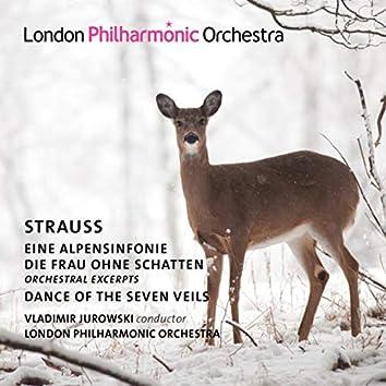 Strauss: Alpine Symphony, Die Frau ohne Schatten & Dance of the Seven Veils