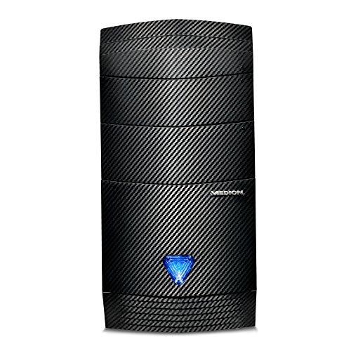 Medion P4363 D Desktop-PC (AMD A10-8750 Prozessor, 8GB RAM, 2TB HDD, 256GB SSD, AMD Radeonm R7 240, Windows 10 Home)