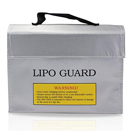 PsmGoods Bolsa Bolsa de Li-Po batería Guardia incombustible Protección de Seguridad del cargador de Saco (24*18*6.4cm)