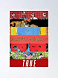 MCTEL Talking Heads - Albums Poster 11.7x16.5 Inch Frame