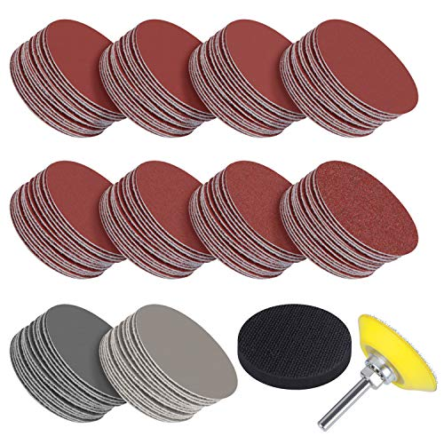Great Features Of Simniam 320 Pcs 2 Inches Sanding Discs Pad Kit for Drill Grinder Rotary Tools with...