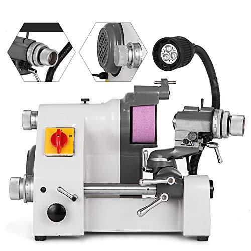 VEVOR U3 Multi-functional Cutter Grinder Sharpener Universal Grinder Sharpener Machine 5 Collet for End Mills with Lamp