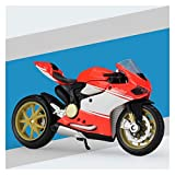 1:18 para Ducati Alloy Diecast Motoccycle Modele Workable Shork Absorber Juguete para Niños Regalos Colección De Juguetes (Color : 7)