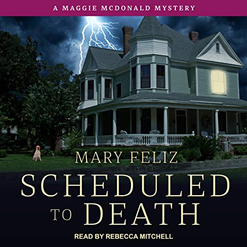 Scheduled to Death audiobook cover art