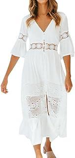 sports shoes 0d94e 8e391 Suchergebnis auf Amazon.de für: weißes strandkleid lang