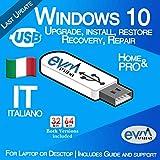 EVM ™ - Windows 10 Pro & Home 32&64 bit Italiano
