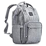 KiddyCare Diaper Bag Backpack, Multi-Function Baby...