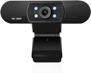 SHUHAN Webcam Web Camera 2.0 Mega Pixels 1080P HD Drive-free USB Computer Camera Computer Audio Video Accessory