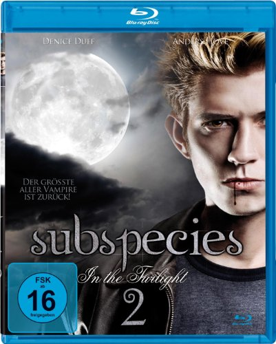 SUBSPECIES 2 - In The Twilight [Blu-ray]