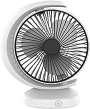 Draagbare airconditionerventilator, persoonlijke luchtkoeler Desktopventilator, mini-ruimtekoeler USB oplaadbare ventilato...
