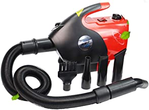ANYWN Dog Dryer Dog Hair Dryer Pet Blow Dryer Professional Dog Grooming Dryer Dog Blower with Adjustable Speed and Temperature, Spring Hose, and 4 Different Nozzles