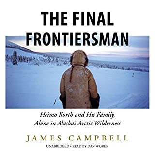 The Final Frontiersman audiobook cover art