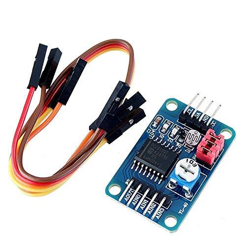 Qiyue Bao Zhuang Kabelstecker PCF8591 AD/DA-Wandlermodul Analog-Digital-Analog-Wandlung Passend for Arduino Entwicklungs-Board-Modul