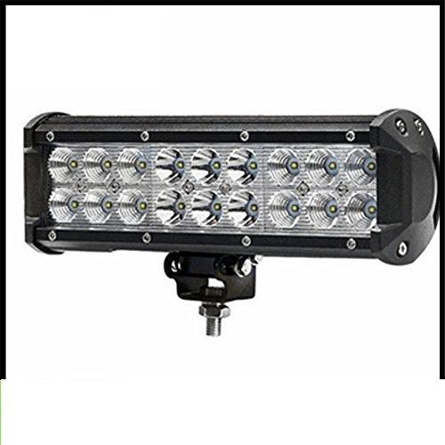 KDLD 54W Led barre lumineuse, ECC Spot Peigne Travail Lumière Drving Lumières Lampe de brouillard Convient à tous les modèles