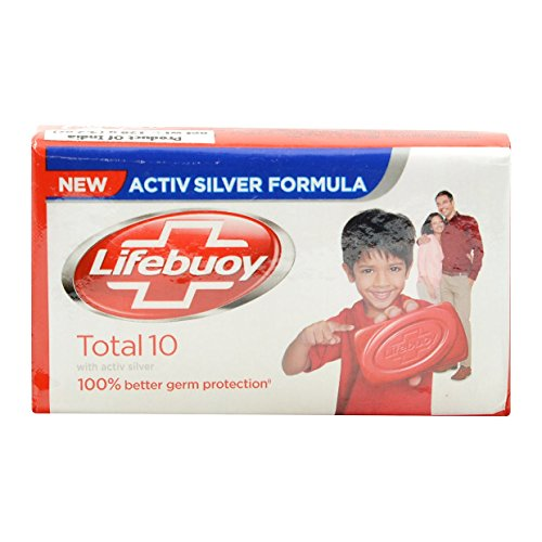 Lifebuoy Total 10- Soap Bar - 125g X 3 Bars