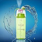 Strauss Water Mist Spray Bottle 600ml (Green)