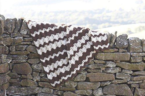 Sirdar (Hayfield) Bonus Aran Wool Crochet afghanischen Decken Häkelmuster 7059
