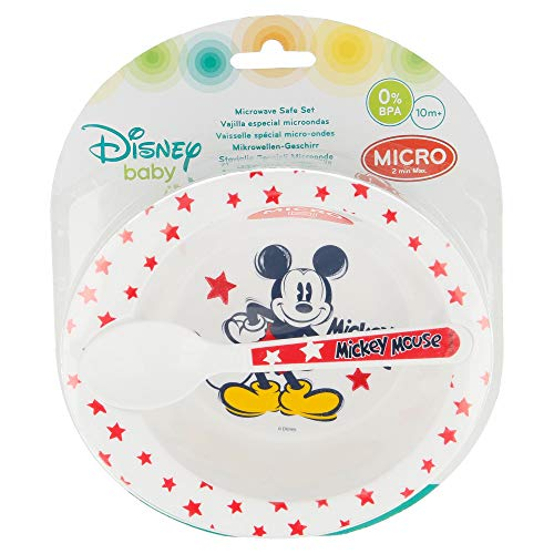 Set Micro Baby 2 pièces. (CUENCO ET CUISE) MICKEY MOUSE - DISNEY - 90 CHICO CRFE