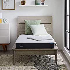 This mattress features a 6-inch supportive feel ideal for kids and teens in need of a mattress upgrade Gel infused memory foam regulates temperature while conforming to the body to ease pressure points The 1 inch ventilated gel memory foam top layer ...