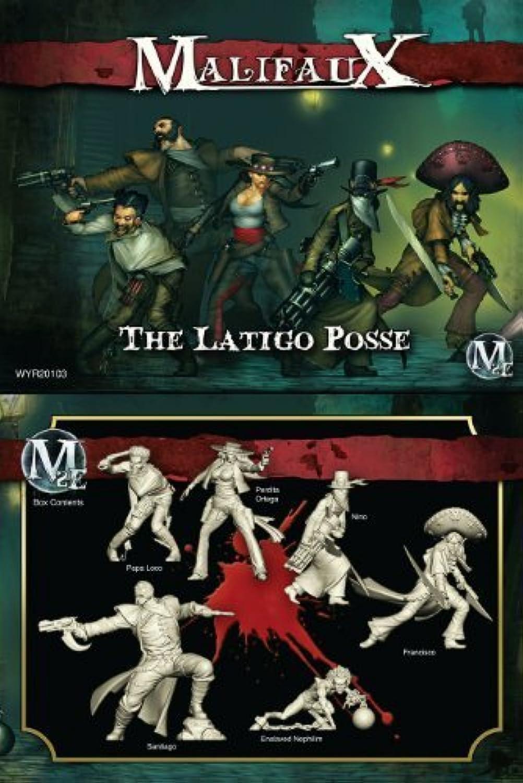 mejor moda Malifaux 2E The The The Latigo Posse (6 Figuras, WYR20103) by Wyrd Minatures  alta calidad