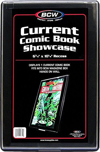 CURRENT AGE Comic Book Showcase Display Case NEW 6 3/4' x 10 1/4' recess