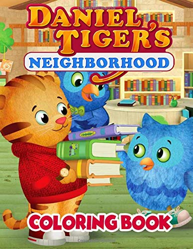 Daniel Tiger's Neighborhood Coloring Book