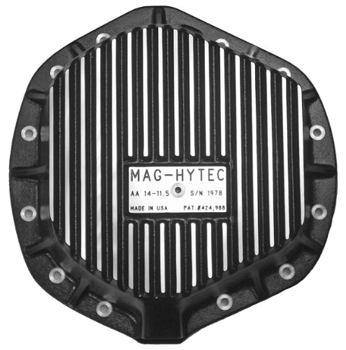 Mag-Hytec Rear Differential Cover 01-12 Chevy Silverado & GMC Sierra 2500 3500 6.6L Diesel & 8.1L Gas w/ Full floating Axle 14-11.5