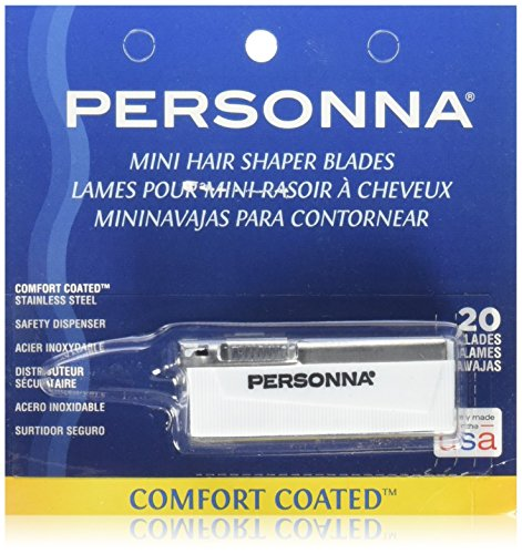 Personna Mini hair Shaper Blades 20-pk.