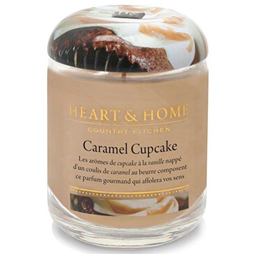 310 G Heart and Home candela Caramel Cupcake