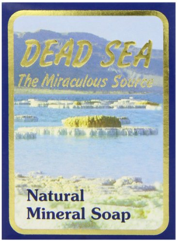 J Malki Dead Sea Natural Mineral Soap 90g