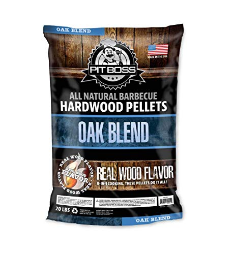 PIT BOSS 55241 20lb Oak Blend Wood Pellets, Brown