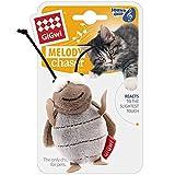 Vealind GiGwi Melody Chaser Juguete Interactivo de Felpa para Perros y Gatos (Grillo)