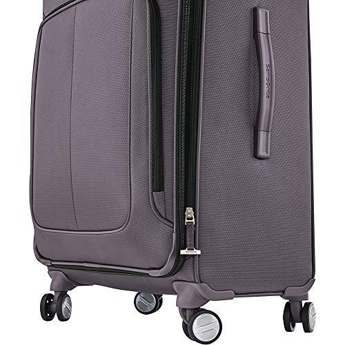 Samsonite SoLyte DLX Softside Luggage, Mineral Grey, Carry-On