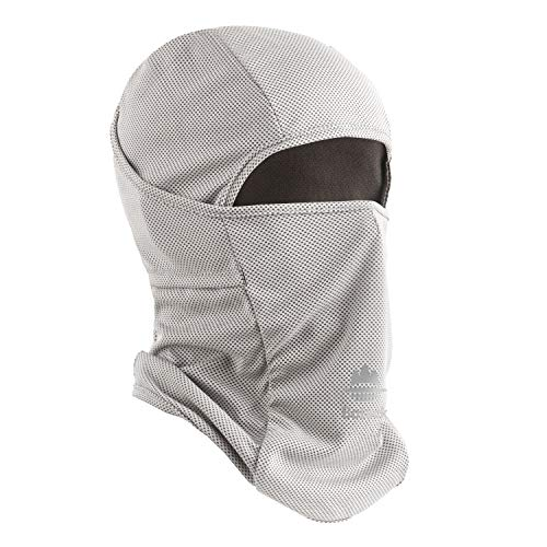 Botack Balaclava UV Protect Windproof Dustproof Breath Cooling Face Mask Running Cycling Motor Mask for Men Women Grey