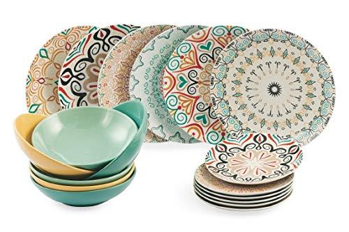 Villa d'Este Home Tivoli 5901223 - Vajilla de porcelana
