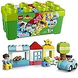 LEGO DUPLO La boîte de briques avec rangement pour jouets, Premières briques jouet d'apprentissage préscolaire pour tout-petits de 1,5 ans, 23 pièces, 10913