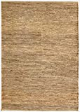 HAMID Alfombra Yute Ubeda Color Natural - Alfombra 100% Fibra de Yute (60x110cm)