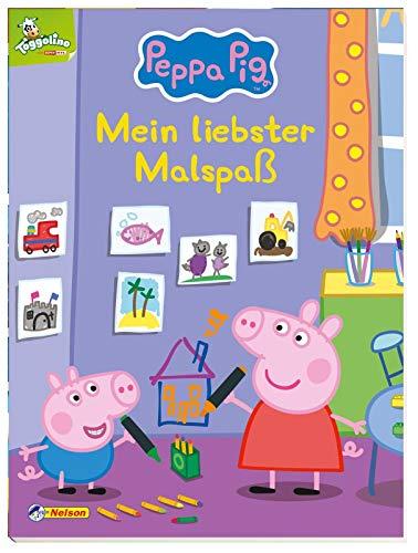 Peppa: Mein liebster Malspaß: Kinderbeschäftigung ab 3 (Peppa Pig)
